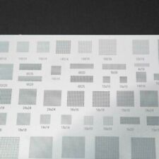 Tin Planting Template Reballing Silver Solder Stencil Template Quality