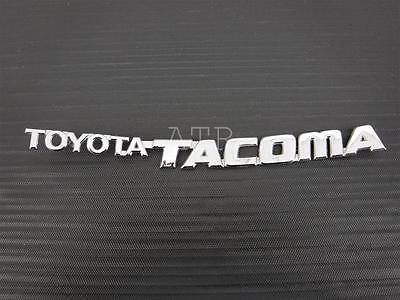 TOYOTA TACOMA EMBLEM 95-04 FRONT DOOR CHROME BADGE sign symbol logo name