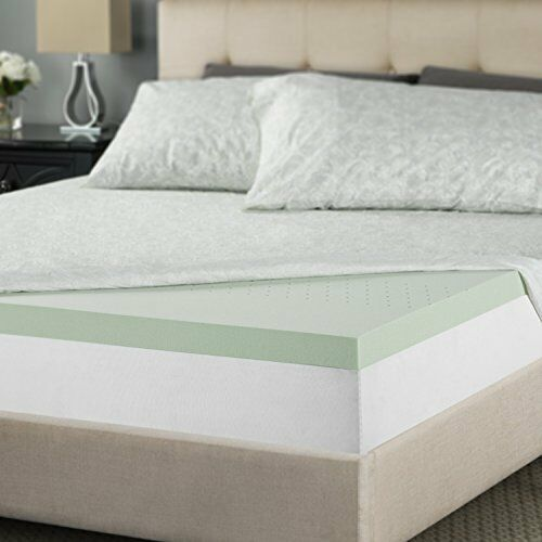 Zinus 2 Inch Green Tea Memory Foam Mattress Topper Short Queen Online Ebay