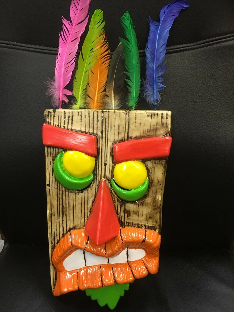 UK AKU AKU CRASH BANDICOOT UKA UKA HALLOWEEN FANCY DRESS UP MASK ADULT COSPLAY