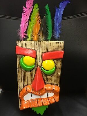 UK AKU AKU CRASH BANDICOOT UKA UKA HALLOWEEN FANCY DRESS UP MASK ADULT COSPLAY *