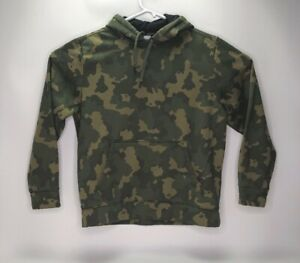 Russell-Mens-Camo-Pullover-Hoodie-Sweater-Size-L-42-44