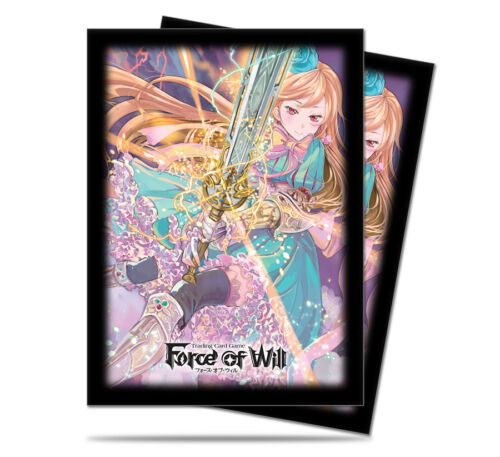 Alice Standard Deck Protectors for Force of Will 65ct NEW SEALED ULTRA PRO A2