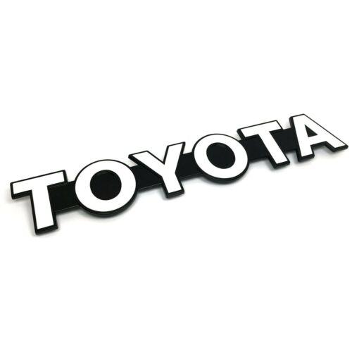 OEM Toyota 85-87 Land Cruiser BJ70 Front Grill TOYOTA Emblem Badge 75311-90K00