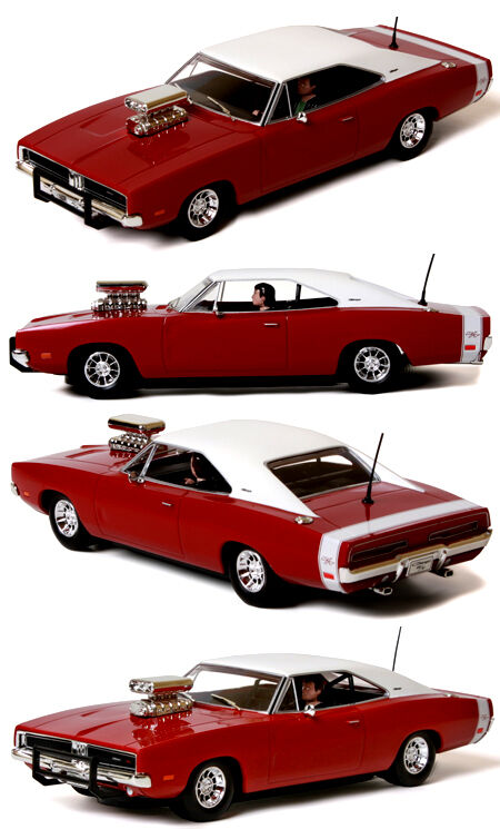 Scalextric C3317 Dodge Charger R T w supercharger