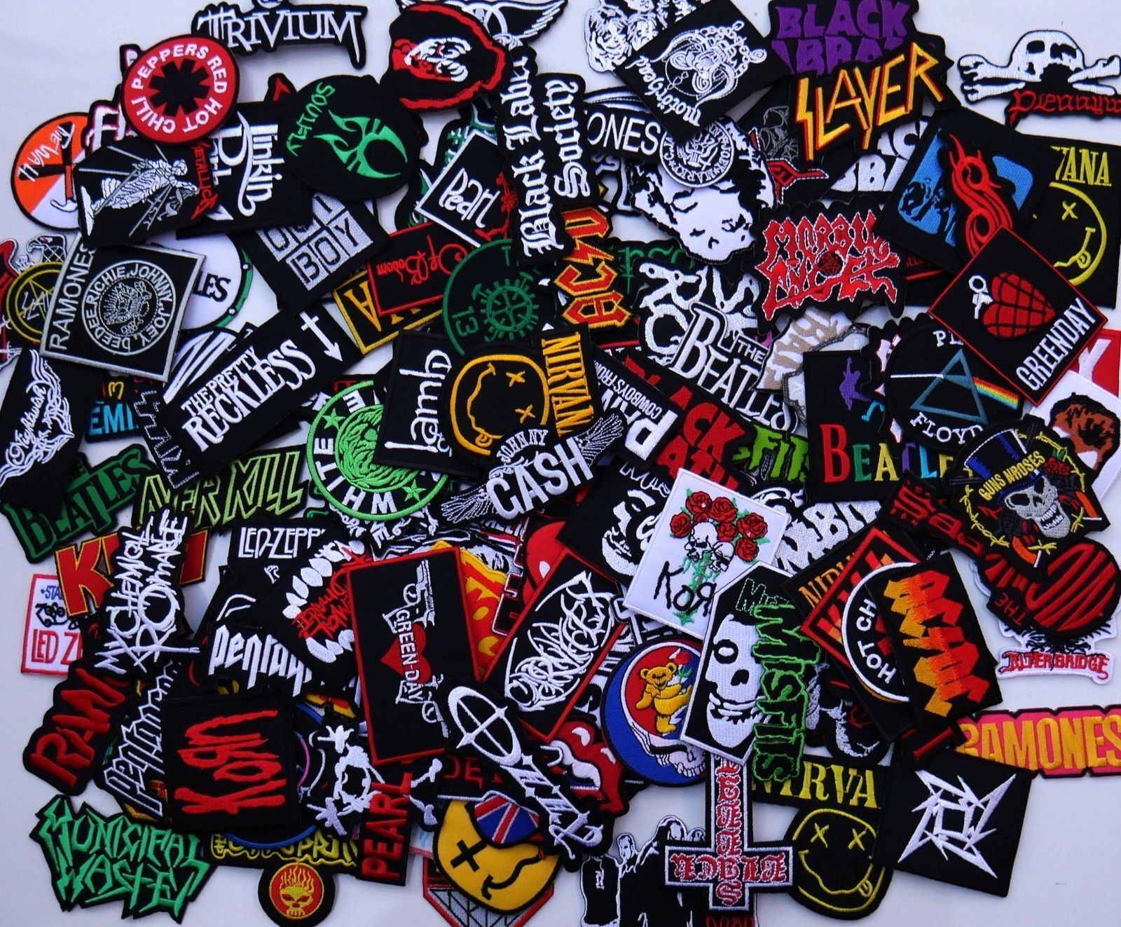 Ratt Rock Band Sew or Iron on Patch NEW
