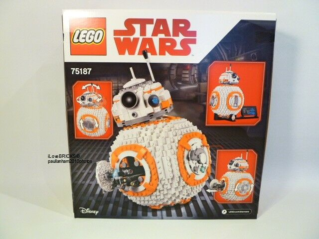 LEGO STAR WARS 'BB-8'  75187 BRAND NEW IN FACTORY SEALED BOX