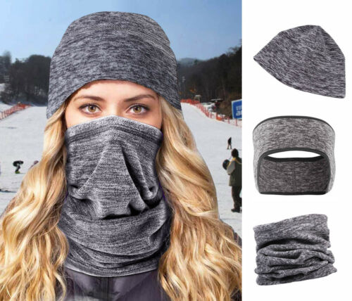 Unisex Neck Warmer Scarf Winter Skiing Motorcycling Thermal Windproof Quick Dry