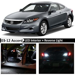 Image Is Loading 16x White Interior Reverse LED Light Package Fits