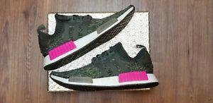 Details about Adidas Originals NMD R1 PK Primeknit Camo Pink Size 13m Running Shoes BZ0222