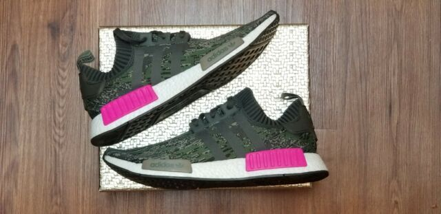best website bc091 94acc Adidas Originals NMD R1 PK Primeknit Camo Pink Size 13m Running Shoes BZ0222