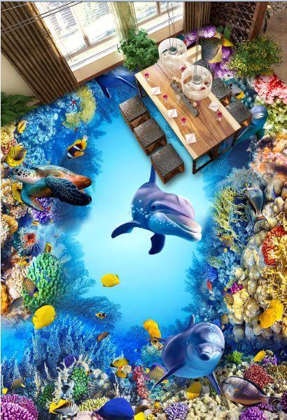 3D Ozean tiefes Loch 65879 Fototapeten Wandbild Fototapete BildTapete Familie DE