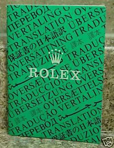 Vintage-Rolex-Translation-Booklet-1994-RARE-Item-565-00-250-10-94