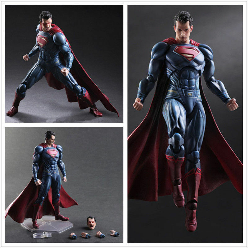 DC Comics Superman Dawn of Justice Figure VARIANT Play Arts Kai Model New in Box