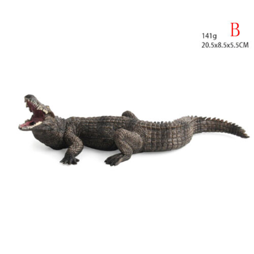 Crocodile Simulation Animal Model Action /& Toy Figures Collection Kids Gift B0IT