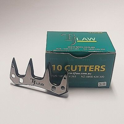 10 Cutters Luxuriant In Design Amicable Tj Law/john Hand Shearing Cutters