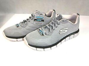 Details about Skechers Sport Men's Skech Flex 2.0 Milwee Fashion Sneaker GrayBlack 10 M US