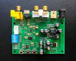 ES9038-ES9038Q2M-DAC-Decoder-Board-Support-IIS-DSD-384KHz-HIFI-Newest-Version