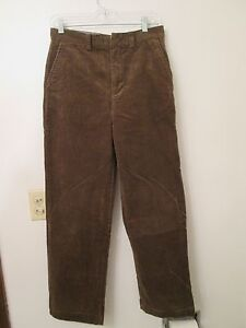 POLO-RALPH-LAUREN-Womens-Cotton-Corduroy-Brown-Pants-Size-18