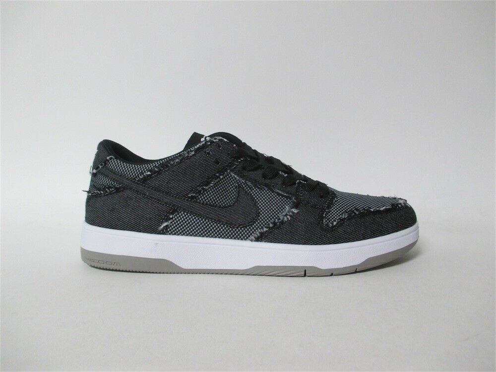Nike SB Dunk Low Elite QS Medicom Bearbrick Black Denim 2018 Sz 10 877063-002