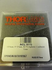 Thorlabs Acl1815 Aspheric Condenser Lens 18 Mm F15 Mm Na057 Uncoated B270