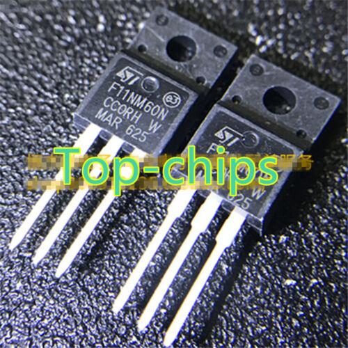 5pcs STF11NM60N F11NM60N ST TO-220F  new