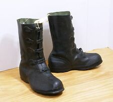 PF Industries Nonslip 5-BUCKLE Rubber Overboot Size-11 US GOV issued