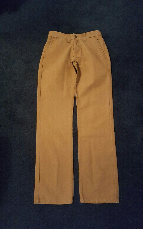 Mens Grown & Sewn Brown USA Cotton Pants Jeans 30X32 RN