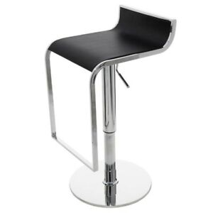 Prime Details About 33 Tall Adjustable Bar Stool Faux Leather Seat Chrome Finished Steel Base Ibusinesslaw Wood Chair Design Ideas Ibusinesslaworg