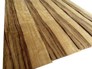 4 x FRAKE KERN FURNIER echt Holz Edelholz Design Dekor Wand Schrank Regal Möbel