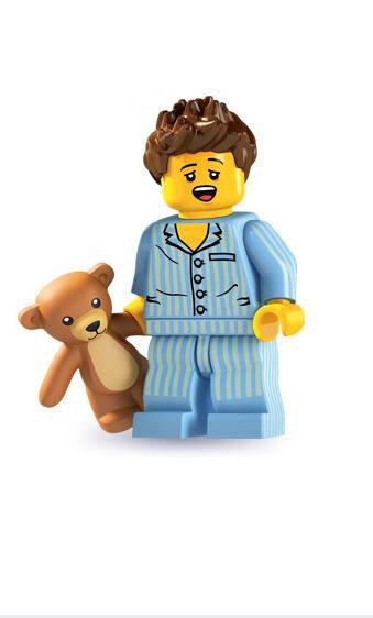 LEGO Minifigures     Minifiguras 8827 - SERIES 6 - Sleepyhead (NEW) f722ab