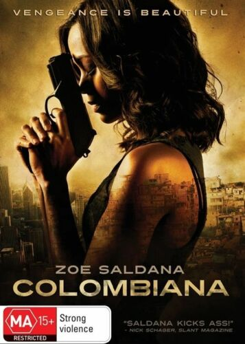 1 of 1 - Colombiana (DVD, 2012) Excellent Zoe Saldana Action Movie