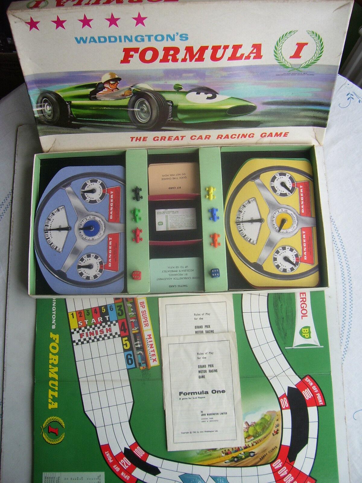 Edición de Fórmula Uno por Waddingtons década de 1960