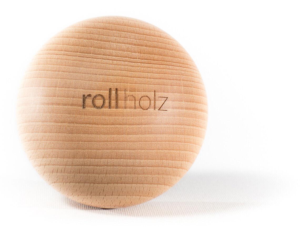 Rollholz Faszienkugel   Massage-kugel Aus Buche Buche Buche Braun von Rollholz 947f2e