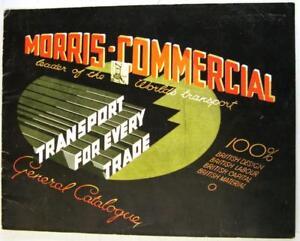 MORRIS-COMMERCIAL-Sep-1933-21948-9-33-20m-Original-Commercial-Sales-Brochure