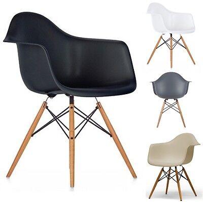 1 Stuhl / 2er Stuhl SET DEKODesign Art Kunststoff Eiffel Esszimmerstuhl TANGO
