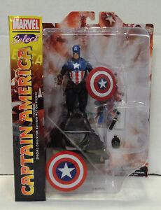 Marvel-Select-Captain-America-Action-Figure-2018-Diamond-New