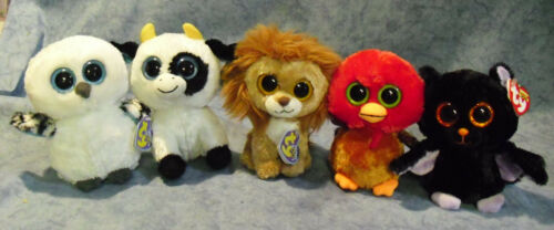 wfl Ty Beanie Boos Glubschi Rarities II Selection Stuffed Toy