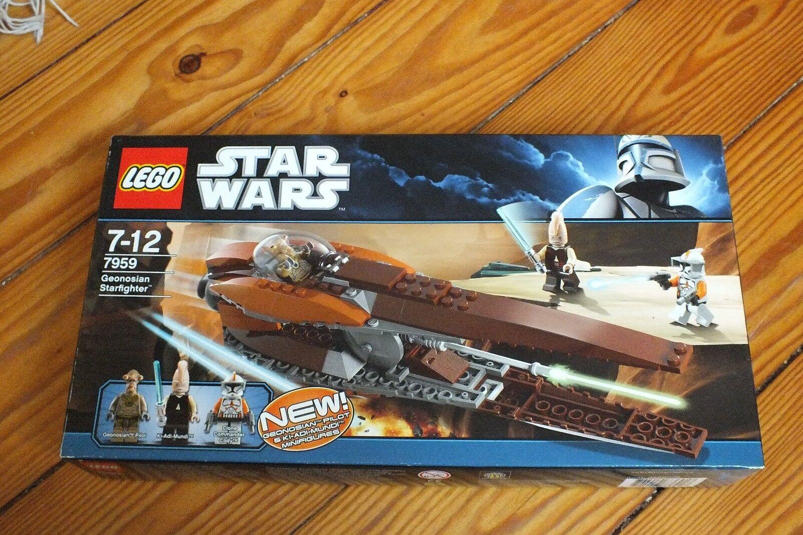 NEU & OVP 7959 7959 7959  Lego Star Wars Geonosian Starfighter 3 Figuren TOP d3a1a3