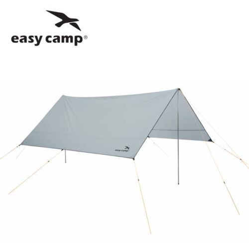 Easy Camp Tarp 3 x 3m or 4 x 4m Canopy Shelter Tent Sun Shade Grey