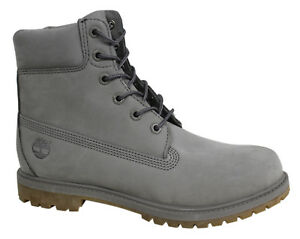 Up Mono Lace Timberland Premium T1a Inch Leather Gray Botas Af para mujer 6 A1klw q00Xpw8F