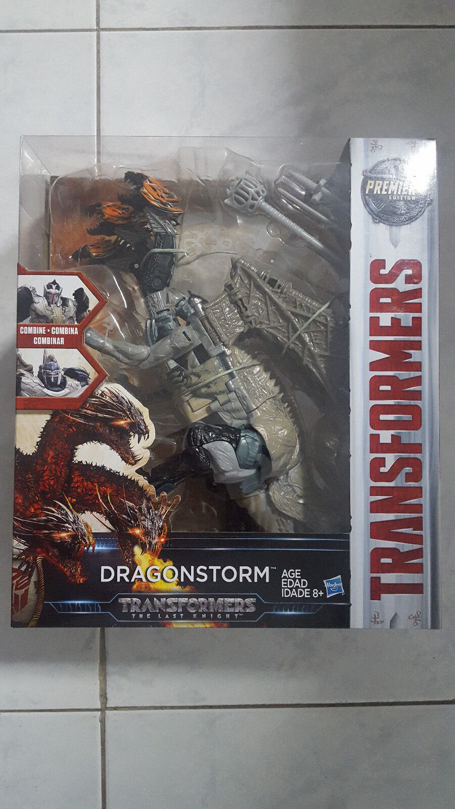 NEW Transformers Movie 5 TLK Leader Class Dragonstorm Action Figure