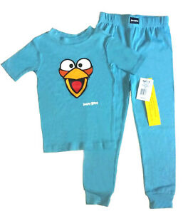 ANGRY-BIRDS-BLUE-BIRD-2PC-COTTON-PAJAMA-SET-SZ-6