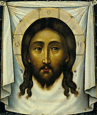 """ORTHODOX RUSSIAN ICON  - CHRIST SAVIOUR """"NOT MADE BY HANDS"""""""