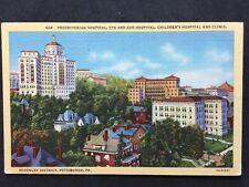 RP Vintage Postcard - USA - #13 Presbyterian Hospital, Schenley,  Pittsburgh PA