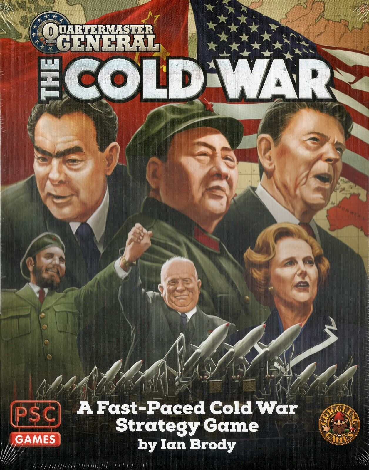 Griggling Games & COPS jeux  quartier-maître général  la guerre froide par Ian Brody