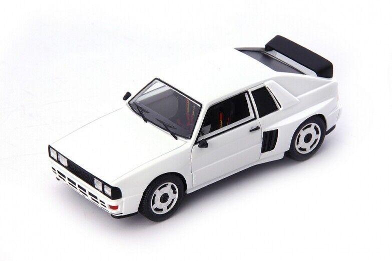 garantía de crédito Aud Quattro Gr.B Mittelmotor Projootype blanco - Allemagne 1985 1985 1985  - AutoCult 1 43  de moda