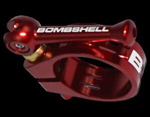 Bombshell Ti Seat Clamp 31.8 Black