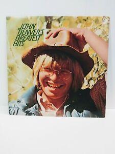 John-Denver-s-Greatest-Hits-Promotional-LP-NM-Vinyl-RCA-Records-1973