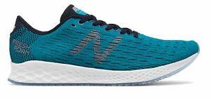 New-Balance-Men-039-s-Fresh-Foam-Zante-Pursuit-Shoes-Blue-With-Black